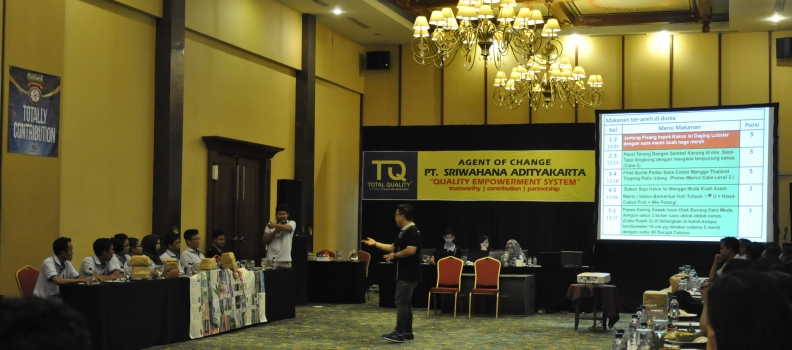 Sriwahana is Moving Up – Total Quality Training #1